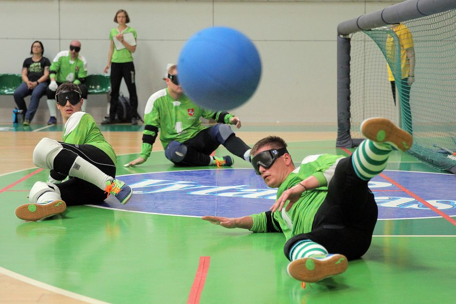 Goalball bronze match, Kaunas, July 2017
