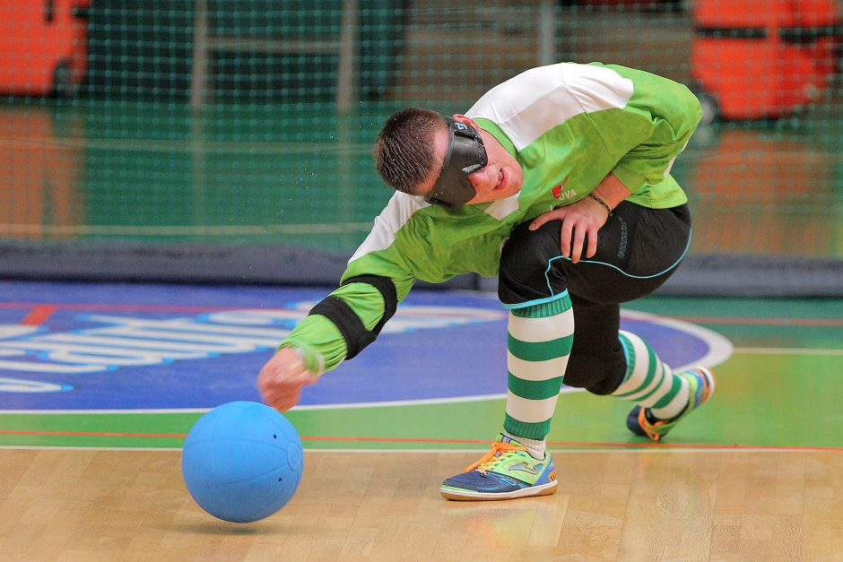 Goalball bronze match, Kaunas July 2017