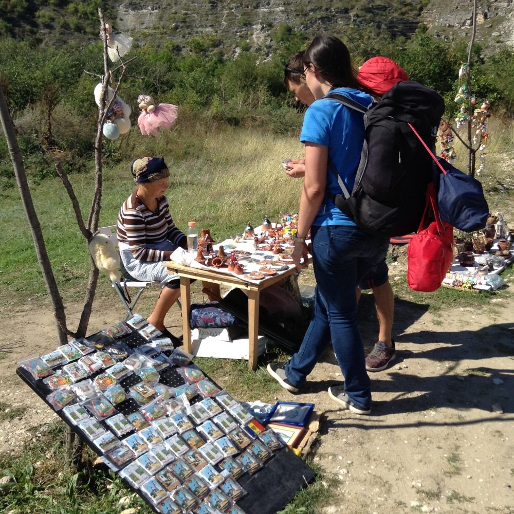 Moldovan backpackers - a rare sight