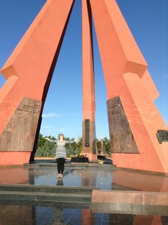 """""""Eternitate"""" peace monument in Chisinau"""